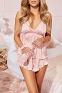 Piżama Arien - komplecik w odcieniu różowym